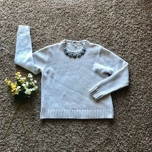 NWOT J.Crew wool blend crewneck sweater